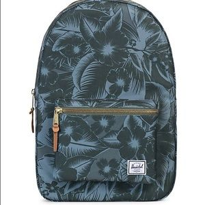 Jungle Floral Herschel Settlement Backpack